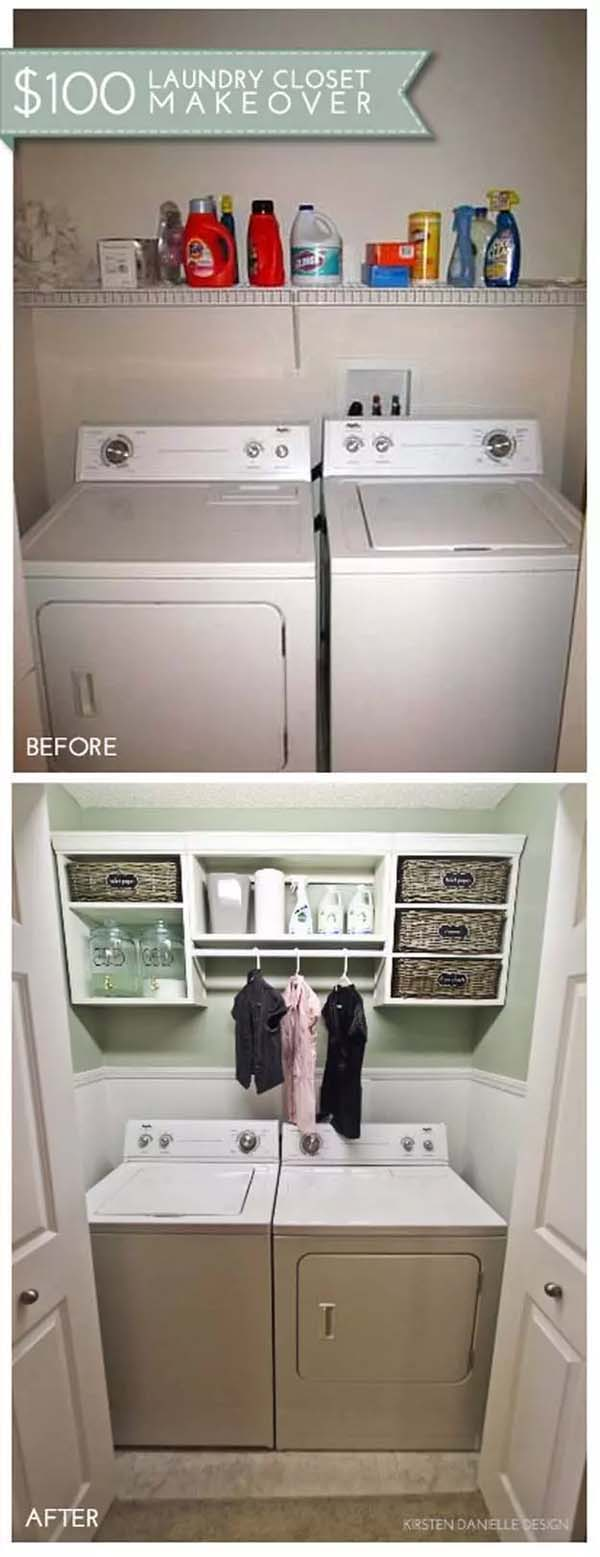 Compact Storage with Cubbies