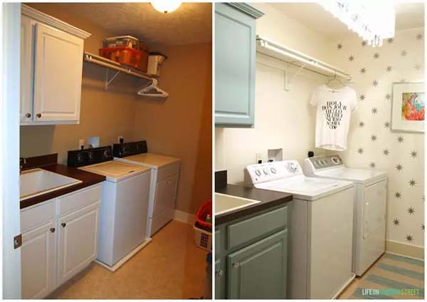 Freshness in Every Detail for the Laundry Room